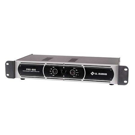 Amplificador de Potencia LL Audio Pro800 200W