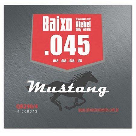 Encordoamento Mustang Phx Baixo 045 4 Cordas Qb290-4