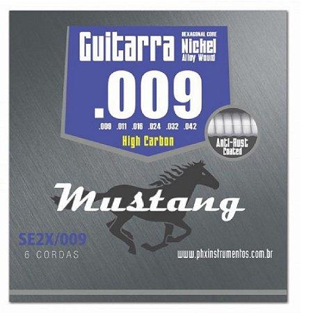 Encordoamento Mustang Phx Guitarra 009 High Carbon Se2x-009