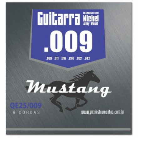 Encordoamento Mustang Phx Guitarra Nickel Alloy 009 Qe25-009