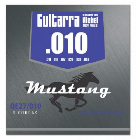 Encordoamento Mustang Phx Guitarra Nickel Alloy 010 Qe27-010