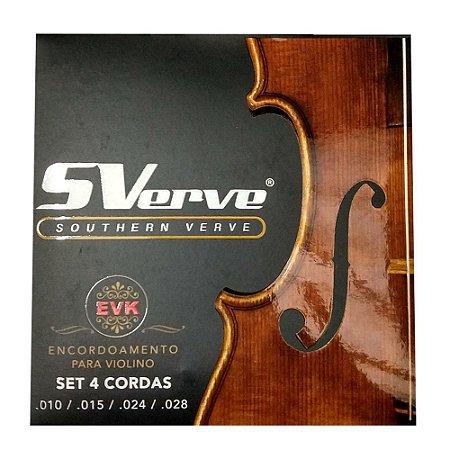 Encordoamento Ronsani Sverve Evk Para Violino 2053