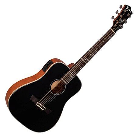 Violão Elétrico Aço Tagima Baby Tw15 Woodstock Preto