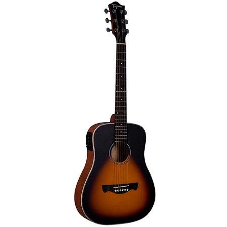 Violão Tagima Baby Tw15 sunburst Woodstock Elétrico Aço