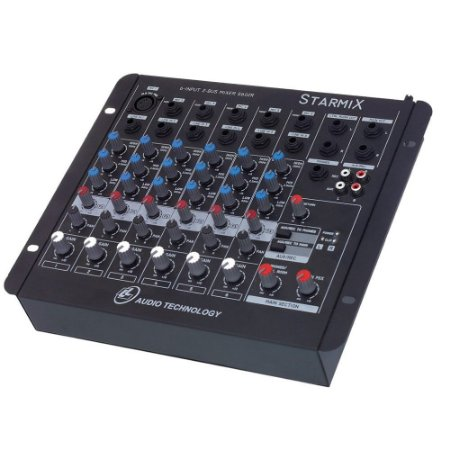 Mesa de Som LL Audio Starmix S602R 6 Canais