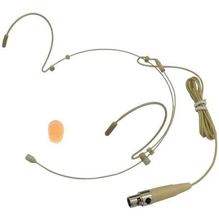 Microfone Headset Reposição Ksr Pro Kt3c Mini Xlr Cor Pele