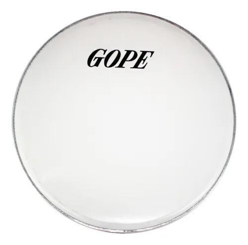 Pele Gope 6 Polegadas Leitosa Gp3 Percussão Aro Alumínio