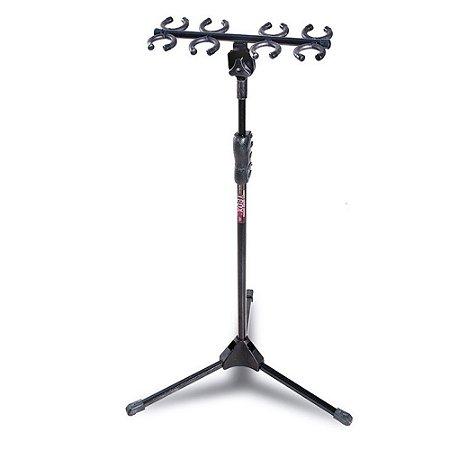 Suporte Pedestal Para 8 Microfones Ibox Sm8 Expositor