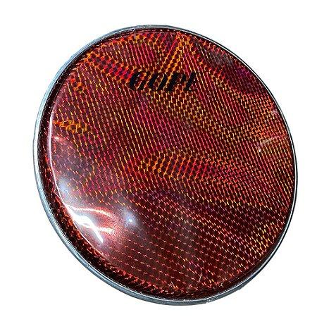 Pele Gope 12 Polegadas Holográfica Vermelho 1812
