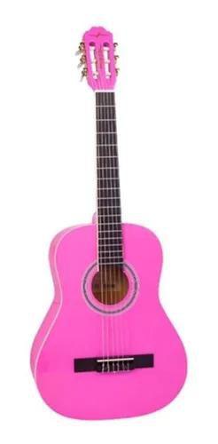 Violão Infantil Vogga VCA95 3/4 Nylon Rosa