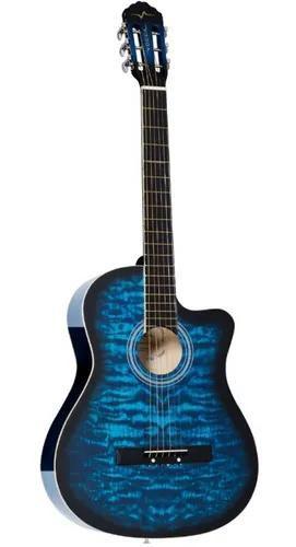 Violão Vogga Clássico Acústico Cutway Vca227nc Azul