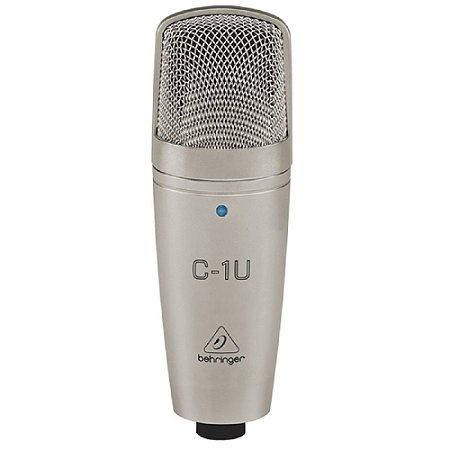 Microfone Behringer C1U Condensador Usb Profissional