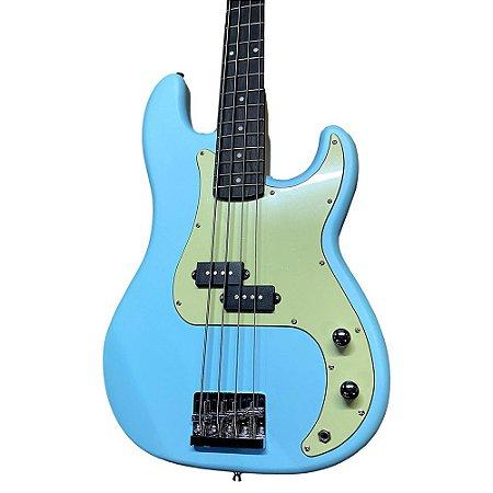 Contra Baixo Tagima Memphis Mb40 Azul Sonic Blue Satin DF/MG