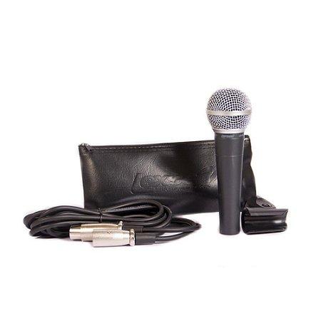 Microfone Lexsen Com Fio Dinâmico Cardioide Lm58 009125