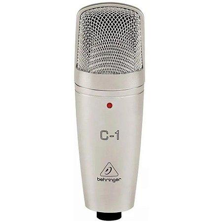 Microfone Behringer C1 Condensador Cardióide Prata