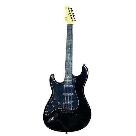 Guitarra Canhoto Tagima Tg500 Lh Preto BK Woodstock