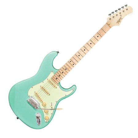Guitarra Tagima T635 Surf Green Escala Clara Escudo Mint Green