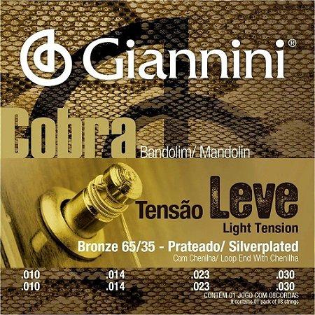 Encordoamento Giannini Cobra Bandolim Bronze Leve GESBB