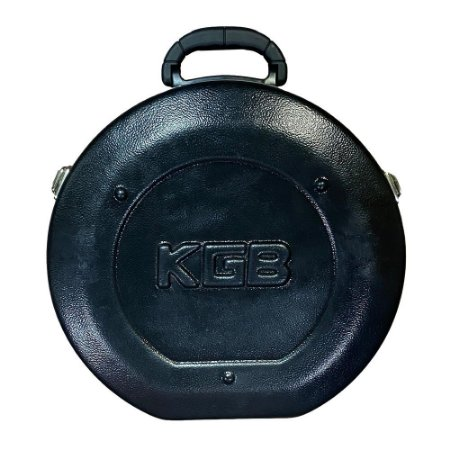 Estojo Case KGB Para Pandeiro 11 12 13 Interno Pelúcia Rígido