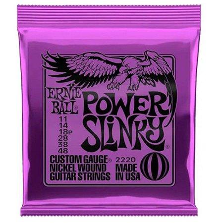 Encordoamento Ernie Ball Guitarra 011 Power Slinky 2220