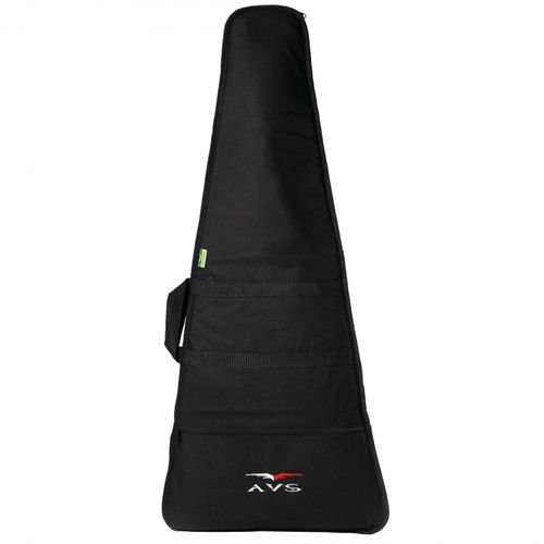 Capa Bag Luxo Guitarra Avs Acolchoado C/ Alça Mochila E Maos