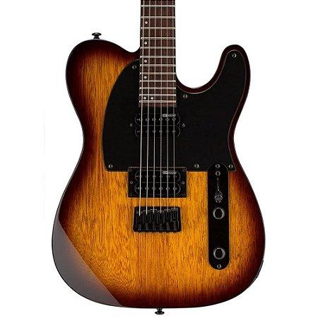 Guitarra telecaster esp ltd te200 tsb tobacco sunburst
