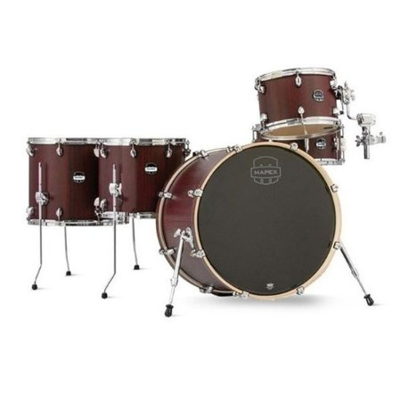 Bateria Mapex Mars Crossover bloodwood MA528SF bumbo 22