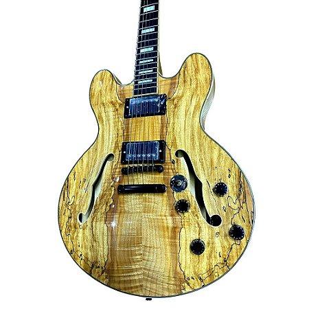 Guitarra PHX Semi Acústica AC1 Natural