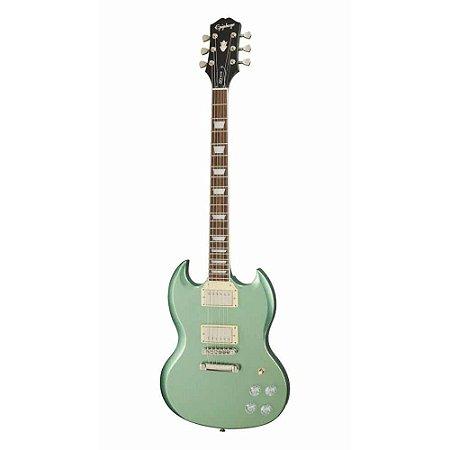 Guitarra Epiphone Sg Muse Wanderlust Green Metallic regulado