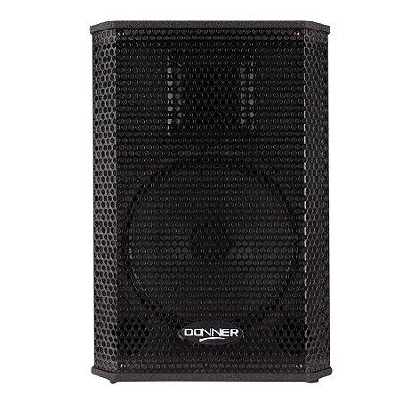Caixa amplificada Ativa Donner Saga falante 10 - 200 Watts