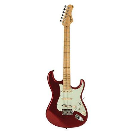 Guitarra Tagima brasil T805 vermelho Metalico LF/MG Regulado