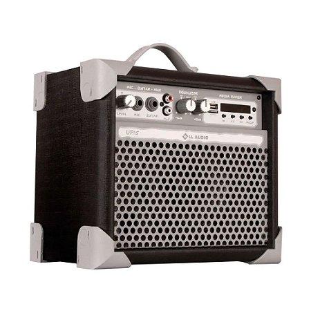 Caixa De Som Amplificada LL Áudio Multiuso Up5 preto bt