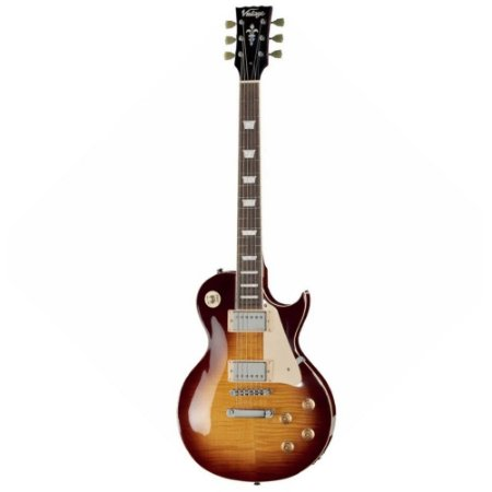 Guitarra Vintage V100 Ice Team Les Paul - Regulado