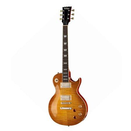 Guitarra Vintage V100 Lemon Drop PGM Les Paul - Regulado