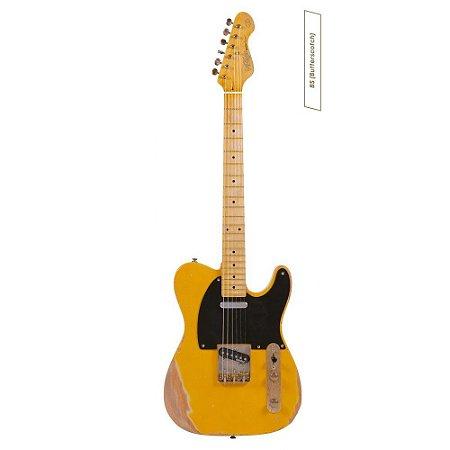 Guitarra telecaster Vintage V52MR  Icon Series - Regulado