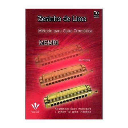Método - Para Gaita Cromática - Zesinho de Lima