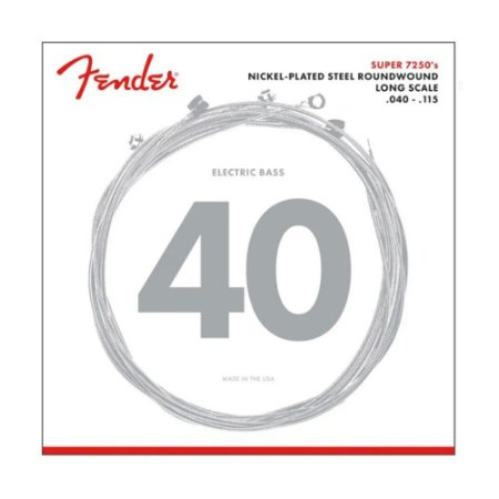 Encordoamento Baixo Fender 5 Cordas 040 72505l Long Scale
