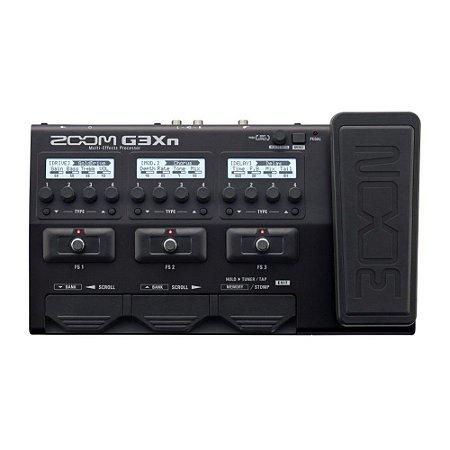 Pedaleira Zoom G3Xn Guitarra Multi-efeitos pedal expressão