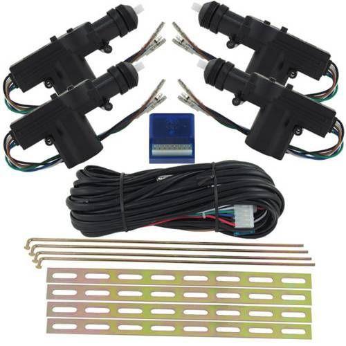 Kit Trava Elétrica Universal 4 Portas