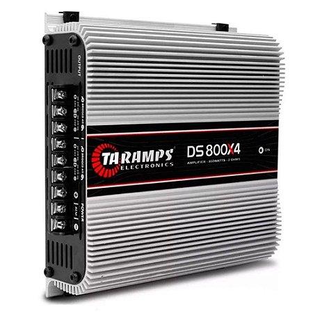 Taramps DS 800X4 Módulo Amplificador 800W RMS 4 Canais 2 Ohms Classe D
