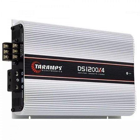 Taramps DS1200 Módulo Amplificador 1200 watts 4 canais de 150W RMS