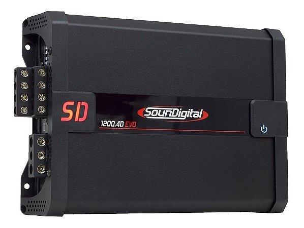 Modulo Amplificador SounDigital SD1200.4 EVO II 4 OHMS