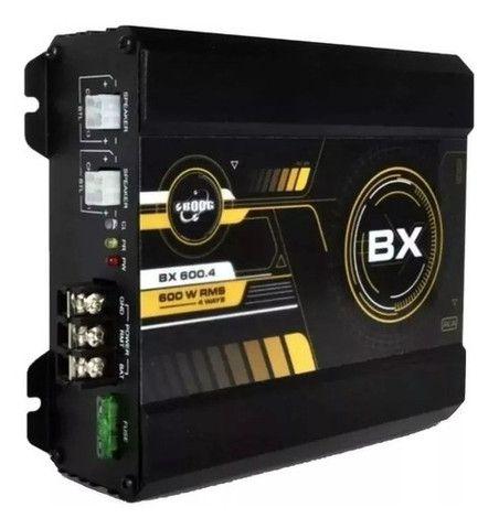 Modulo Amplificador Boog BX 600.4 600 Rms 4 Canais