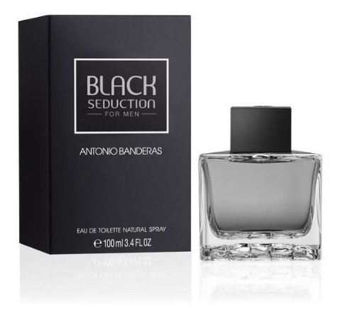 Antonio Banderas Black Seduction Eau de Toilette 100Ml Masculino