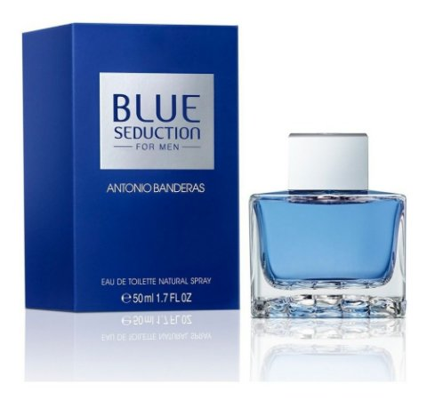 Antonio Banderas Blue Seduction Eau de Toilette 50Ml Masculino