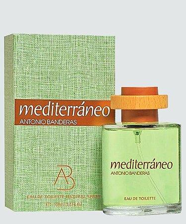 Antonio Banderas Mediterráneo Eau de Toilette 100Ml Masculino