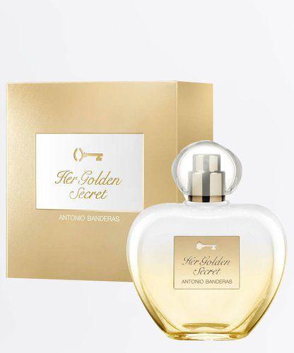 Antonio Banderas Her Golden Secret Eau de Toilette 80Ml Feminino