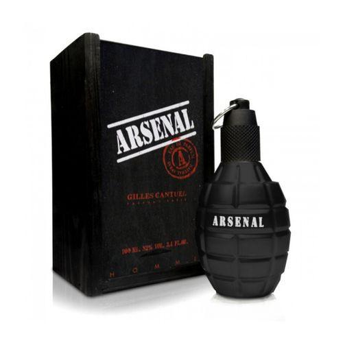 Arsenal Madera Black 100Ml Masculino