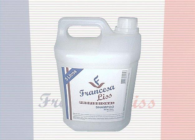 Shampoo  Profissional sem sal 5 litros Francesa Liss