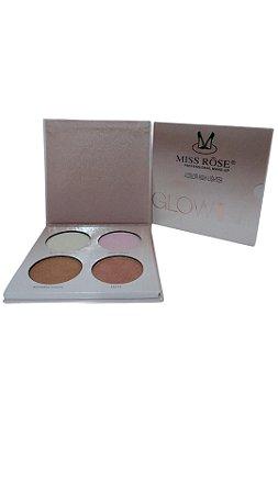 Kit Iluminador de 4 cores Miss Rose Bronze